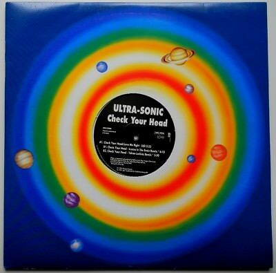"2 x 12"" DE**ULTRA-SONIC - CHECK YOUR HEAD (CLUB TOOLS '95)**29121"