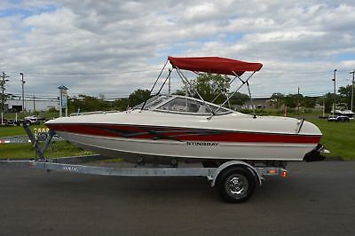 2006 Stingray 185 LS Bowrider, super clean only 179 well cared for hours.