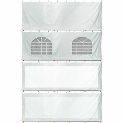 20x40' Commercial Canopy Pole Tent, Sidewalls, Anchoring Stakes Select Options