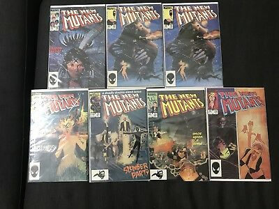 The New Mutants 18 19 19 20 21 22 23 Marvel Comic Book Lot X-men