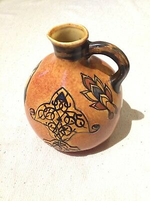Clews Chameleon Art Pottery Vase, Persian Art Jug