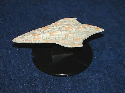 Star Wars Starship Battles Mon Calamari Cruiser Mc80 Ship 3/60 On Stand (M18-1)