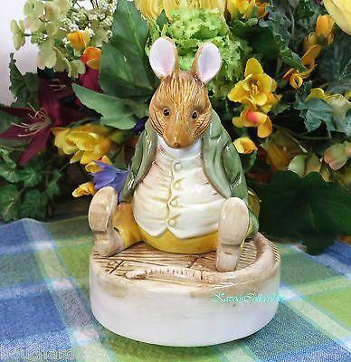 Schmid Beatrix Potter Samuel Whiskers Musical Music box