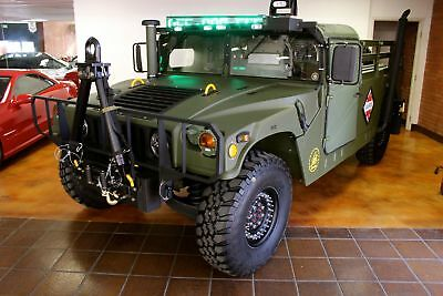 Hummer M1097 Humvee Full Restorations Humvee M1097 1995 Hummer M1097 Humvee FULL Restorations Only 1480 Miles Like New.