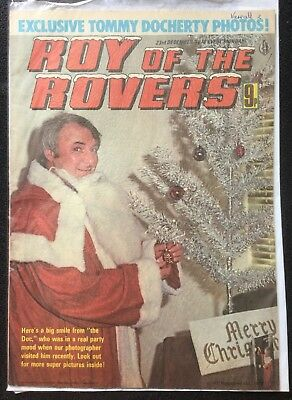 Roy of the Rovers Comic good condition 23rd December 1978 Christmas