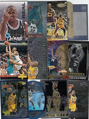 Huge SHAQUILLE O'NEAL Lot of 3060 Base Cards 1990s & 2000s - Lakers Magic