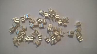 "AH41 Qty 54 pcs  Fuse Clip for 1/4"" Diameter Cartridge Fuse PCB Mount"