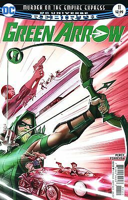 Green Arrow #11 DC Rebirth 2016 Regular Cover