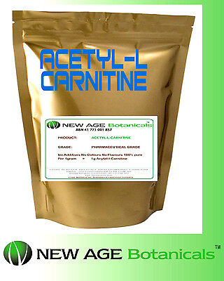 Acetyl-L- Carnitine 100% Pure 500g GET INTO SUMMER NOW! FRESH BATCH!