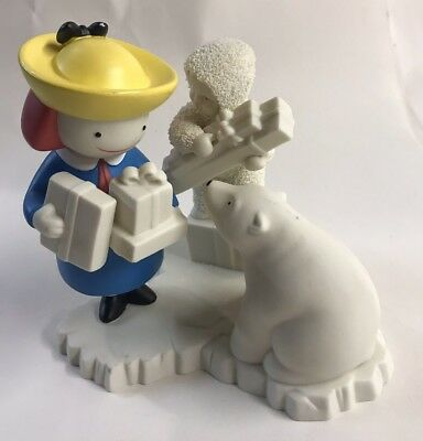 SNOWBABIES MADELINE 1999 DEPARTMENT 56 A Gift So Fine From Madeline
