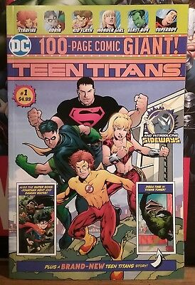 Teen Titans #1 ( 2018 Dc ) 1St App Of Disruptor & Sideways Nm  !!! Htf Wal-Mart