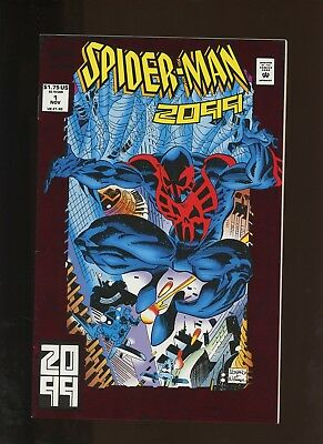 Spider-Man 2099 1 NM 9.2 * 1 Book Lot * 1st Full Miguel O'Hara! 1st Alchemax!