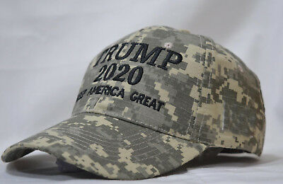 Keep America Great-Donald Trump 2020 Hat Election 45th President  MossyOak Camo
