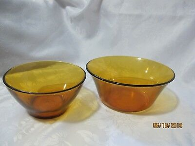 DURALEX Amber 2 Glass Bowl for sale