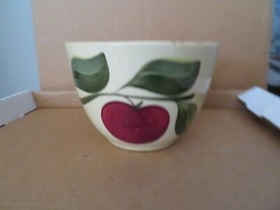 Watt Apple 6 1/2 inch Advertising Bowl Fossil Oregon