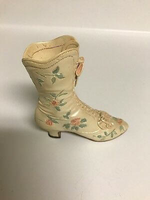 """Just the Right Shoe """"Victorian Wedding Boot"""" Retired from Year 1999 # 25088"""