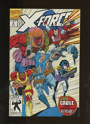 X-Force 8 NM 9.4 * 1 Book Lot * 1st Domino (Imposter)! 1st Wild Pack! Liefeld!