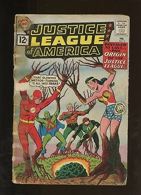 Justice League of America 9 FR 1.0 * 1 Book Lot * Origin of the JLA!