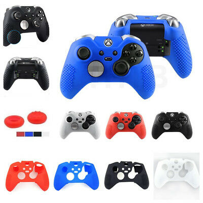 4 Color Soft Silicone Case Cover Skin Thumb Grips for Xbox One Elite Controller