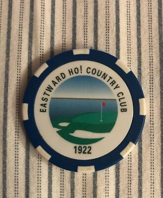 Eastward Ho ! Country Club 1922 Authentic Poker Chip
