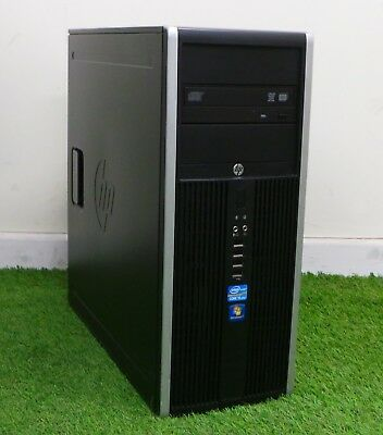 HP Compaq 8200 Elite CMT PC Intel Core i5 2400 3.10GHz 4GB Ram 500GB HDD. HPC1