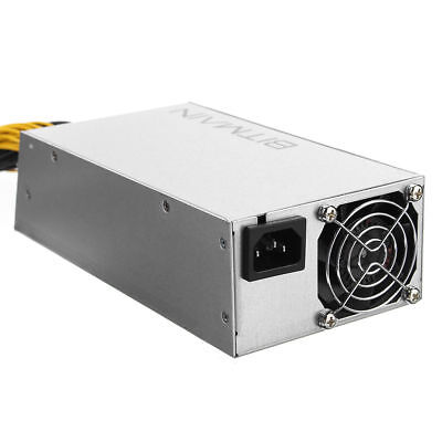 APW3++ PSU  Miner Power Supply 1600W for Antminer D3 S9 S7 L3 Original AntMiner