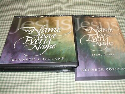 Kenneth Copeland 6 Cd Mess Study Guide The Name Above Every Name** New