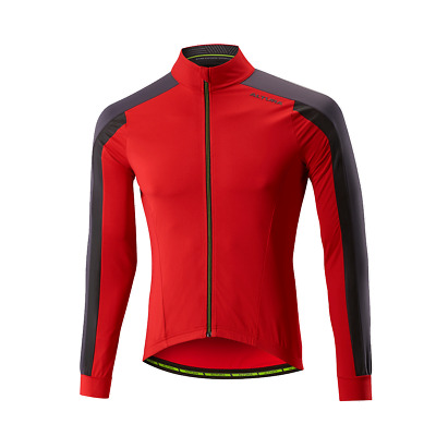 2017 Altura NV2 Thermo Jersey Manche Longue Team Rouge