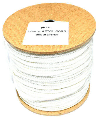 200 METRE NO.2 LOW STRETCH CORD 150kg PHOTO FRAME HANGING PHOTO CANVAS 37kg