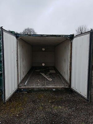20' insulated container