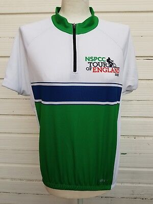 Cycling jersey shirt Max Velo Vintage NSPCC Tour of England Series bike cycle