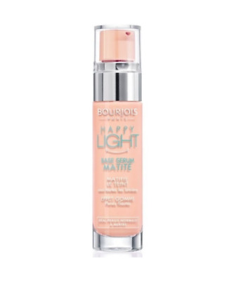 Bourjois Happy Light Matte  Serum Primer  ( Peach Bottle ) Sealed