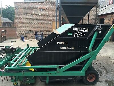 Horse paddock Cleaner very good condition very little use PC 1800