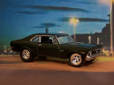1969 69 Chevy Nova Ss Collectible 1/64 Scale Replica Model Display Or Diorama