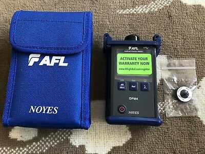 Noyes AFL OPM4 Optical Power Meter