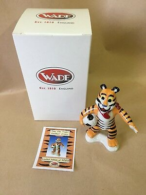 WADE Tony The Tiger Football Crazy Boxed  Limited Edition.