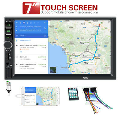 7 inch HD touch Screen Car Stereo with mirror link Bluetooth MP3/MP4 Auto Radio