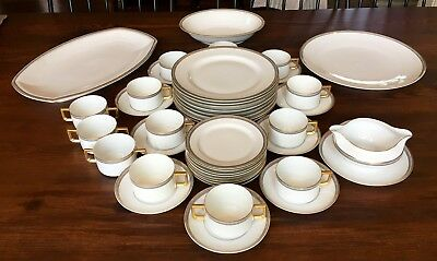 Antique H & Co. Selb Bavaria Heinrich & Co Fine Imperial China Set