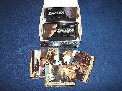 X-Men Movie Trading Cards 22 Sealed Packs In Box Plus Opened Cards (M18-1)