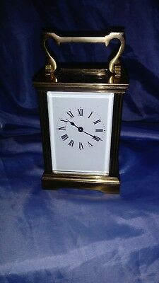 A Fine Traditional Brass Carriage Clock
