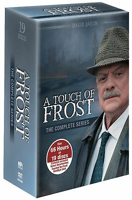 A Touch of Frost: The Complete Series (DVD, 2013, 19-Disc Set) Brand New Sealed