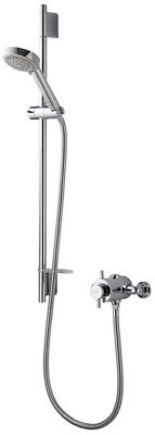 Aqualisa Aspire DL Exposed Thermostatic Shower & Adjustable Head Chrome ASP001EA