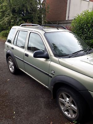 Land rover freelander1 05 plate spares/repairs
