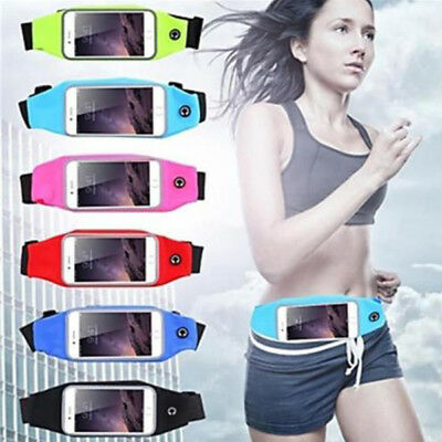 Sports Running Band Bag Waist Belt Phone Case Cover For iPhone 6/7/8 Plus X