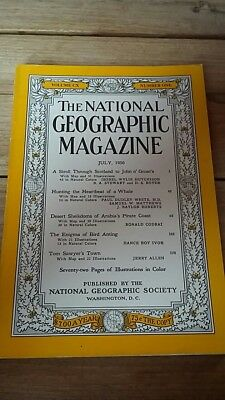 National Geographic Magazine July 1956