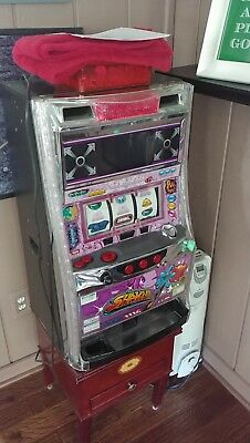 Pachislo slot machine Shake II fully working with tokens and color manual