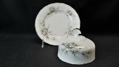 Paragon England Bone China First Love Round Covered Butter Dish