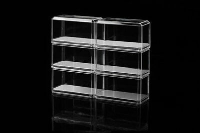 Pioneer Plastics 1//25 Stackable Display Case Mirror Base 094CD PPI094CD