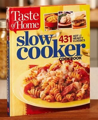 The Lakeside Collection Taste of Home® Hardcover Cookbooks - Slow Cooker