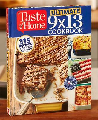 The Lakeside Collection Taste of Home® Hardcover Cookbooks - Ultimate 9 x 13